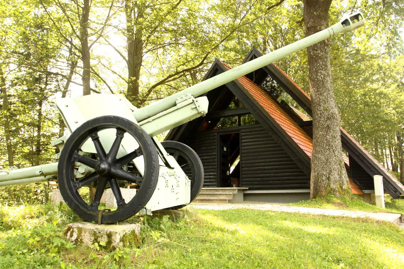Spominski park in soba posvečena prihodu 14. divizije na Štajersko