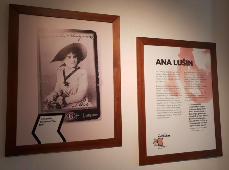 Zapuščina Ane Lušin, Cankarjeve ljubezni