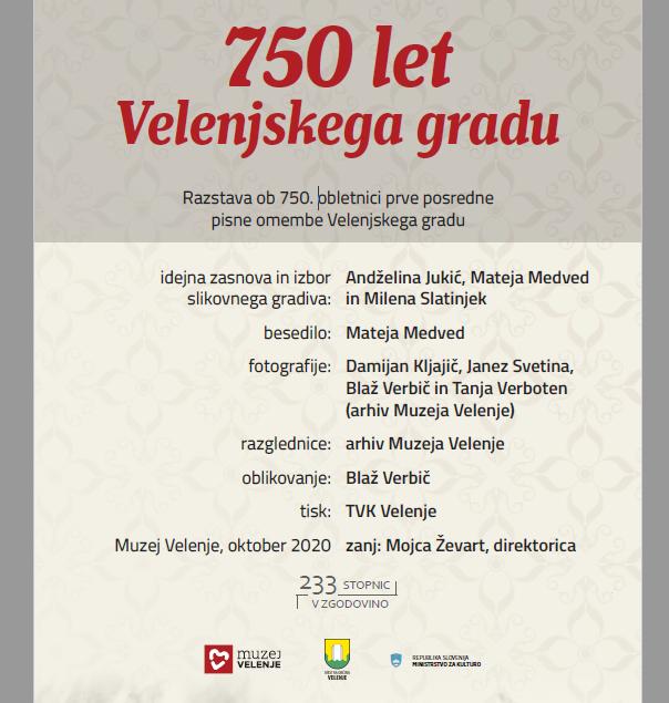 750 let Velenjskega gradu