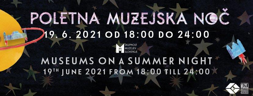 Poletna muzejska noč v Muzeju Velenje