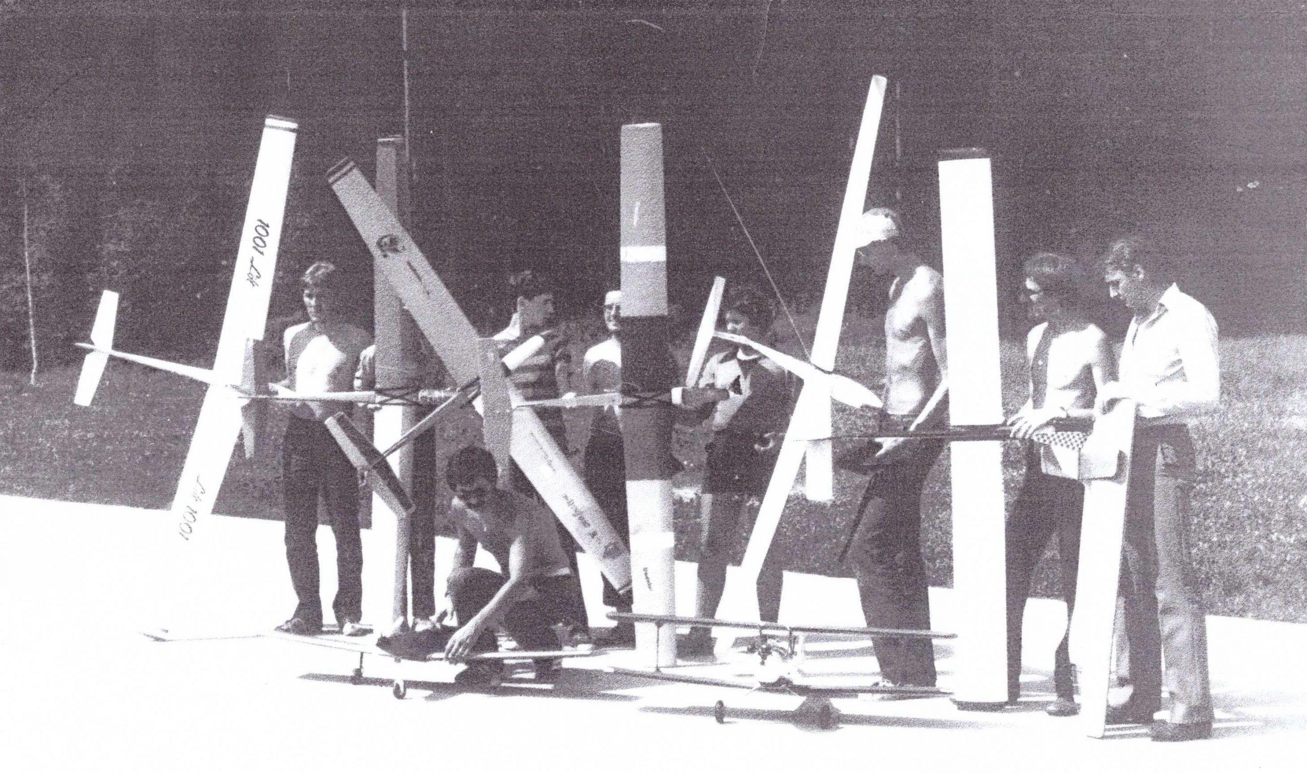 """Odprtje razstave """"50 let Šaleškega aerokluba"""""""